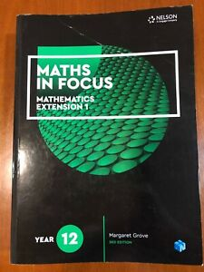 Maths in Focus. Mathematics Extension 1. Year 12. 3rd Ed. Student Access Code