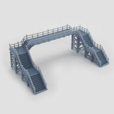 Outland Models Railway Scenery Overhead Footbridge Without Canopy 1:220 Z Scale