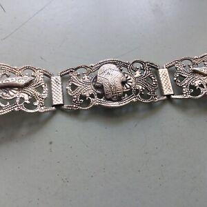Vintage Silver Bracelet From India