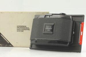 [Exc+5] Horseman Roll Film Back Holder 6x9 8EXP 120 4x5 Type 451 From JAPAN