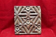 Printing Mold Block Vintage Wooden Antique Hand Carved Home Decor BF-67