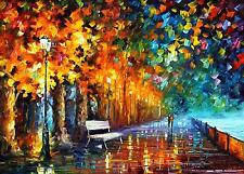 "WAY TO HOME — Palette Knife Oil Painting On Canvas By Leonid Afremov 40""x30"""