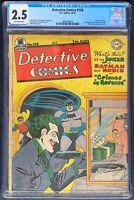 Detective Comics #128 CGC 2.5 DC 1947