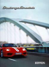 Ferrari 360 Modena Challenge Stradale prospectus reliés livre brochure 2003/G