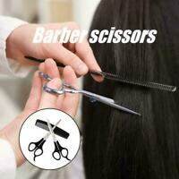 3Pcs Professional Barber Hairdressing Scissors Thinning Cutting Hair Set G9F4