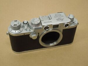 VINTAGE LEICA IIIF 3F DRP ERNST LEITZ WETZLAR GERMANY 35mm CAMERA BODY