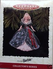 1995 Hallmark Celebration Barbie #3 Holiday Christmas Keepsake Ornament