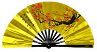 Kung Fu Tai Chi Martial Arts Wing Chun Dance Training Exercise Plum Blossom fan