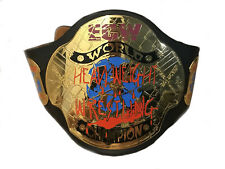 ECW WORLD HEAVYWEIGHT WRESTLING CHAMPIONSHIP BELT.ADULT SIZE REPLICA 2MM