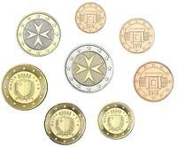 Malta Euro KMS 2018 Malteser Kreuz 1 Cent bis 2 Euro