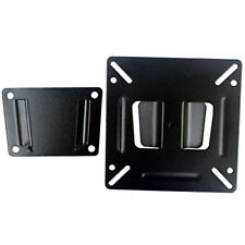 TV Wall Mount Bracket 14-24 Inch Fixed Postition LED LCD Flat RV Bedroom Living
