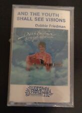 DEBBIE FRIEDMAN And The Youth Shall See Visions NEW Music Cassette 1981 Jewish