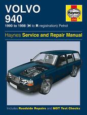VOLVO 940 1990-1998 Reparaturanleitung workshop manual Handbuch Buch Kombi Limo