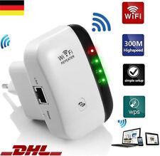 WLAN Repeater Router Range Wifi Extender Wireless Signal Verstärker Booster DHL