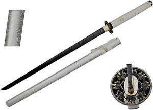 Snake Eye Tactical Warrior Classic Handmade Samurai Katana Sword w/ Wooden Stand