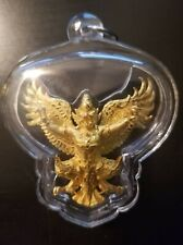 3 Inch Phaya Krut Garuda Luang Phor Wan Pendant with Plastic Protection Case