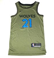 Nike NBA Minnesota Timberwolves Jersey Kevin Garnett Sz Youth Large Green #21