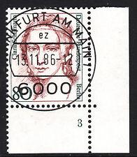 32) Berlin 80 Pf. Frauen 771 FN 3 Formnummer Ecke 4 EST FFM mit Gummi RAR!