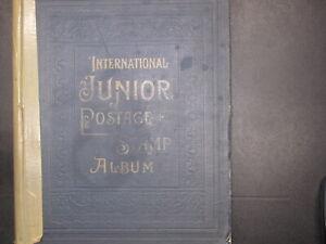 1930 SCOTT INTERNATIONAL JUNIOR ALBUM MIXED CONDITION!