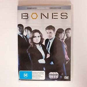 Bones Season 1 TV Series DVD Region 4 AUS TV Series - Crime Detective