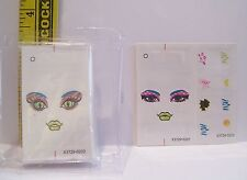 MATTEL GENUINE MONSTER HIGH GIRL DOLL TATTOOS WITH INSTRUCTIONS #2 FOR DOLLS