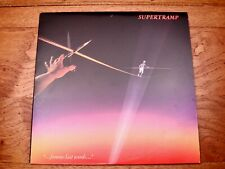 Supertramp ♫ Famous Last Words... ♫ Translucent Europadisk Audiophile Vinyl LP