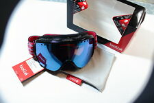 Bolle Ski Goggle Shiny Black Plaid NEW