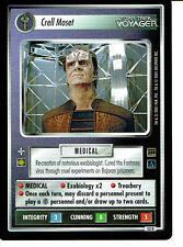 STAR TREK CCG HOLODECK RARE CARD CRELL MOSET