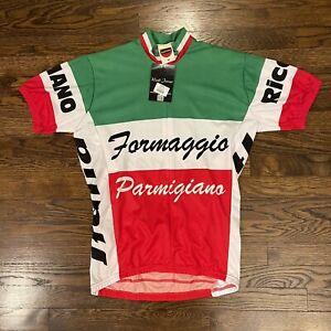NEW World Jerseys Formaggio Cycling Jersey Top Medium
