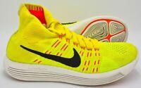 Nike Lunarepic Flyknit Trainers 818676-700 Yellow Strike/Volt UK7.5/US8.5/EU42