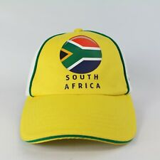 FIFA World Cup Soccer Yellow Sports Cap Hat One Size 2014 South Africa Football