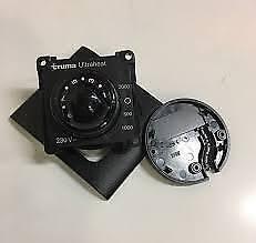 Caravan /MotorhomeTruma Ultraheat Control Panel + Frame - Black- 30030-47100
