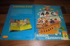 Illus.: Hella Soyka -- ABC - SCHATZSUCHE im BUCHSTABENLAND // Bilderbuch 1982