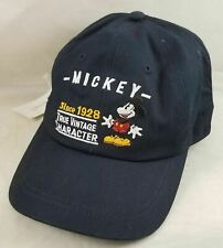 quality design 8d0f6 02e7d Disneyland Mickey True Vintage Character Baseball Ball Cap Hat Adjustable  Youth