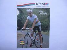 wielerkaart 1990 team pdm wk   rudy dhaenens
