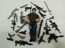 "3.75"" Gi Joe Tele Viper  with 5pcs weapons  rare Action Figure"