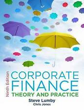 Corporate Finance: Theory and Practice by Steve Lumby, Chris Jones...