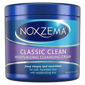 Noxzema CLASSIC CLEAN Original Deep Cleansing Cream 12 oz (340 g)