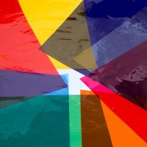 Edukit Cellophane Sheets – 104 Pieces – A4 – 8 Assorted Colours – Art & Craft