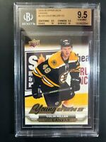 2015-16 Upper Deck Colin Miller Young Guns Canvas Rookie BGS 9.5 True Gem 2x10s