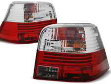 RED WHITE REAR TAIL LIGHTS LTVW03 VW GOLF 4 1997 1998 1999 2000 2001 2002 2003