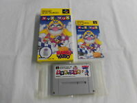 Z4330 Nintendo Super Famicom Mario & Wario Japan SFC SNES w/box