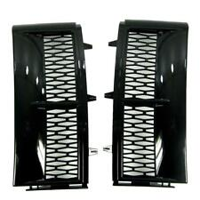 Java Black supercharged style side air intake grilles for Range Rover L322 wing