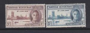 KGVI04 - KING GEORGE VI STAMPS  BRITISH HONDURAS 1946 VICTORY MNH