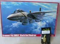 """Hasegawa 1/48 F-14A Tomcat """"Atlanric Fleet SQ"""" """"Jolly Rogers VF-84"""" + Resinsitze"""