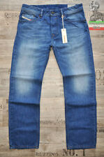 Diesel Faded Mid Rise Classic Fit, Straight Jeans for Men