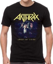 Anthrax Among The Living H3 Sportsgear Black Rock Tee Adult XXL T-Shirt (New)