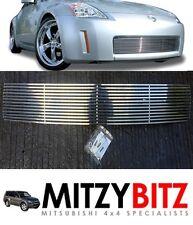 ACCIAIO INOX PARAURTI inserto griglia per Nissan 350Z Fairlady 2006-2007