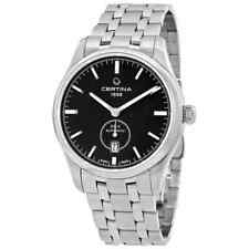 Certina Men's C0224281105100 Ds-4 40mm Black Dial Stainless Steel Watch