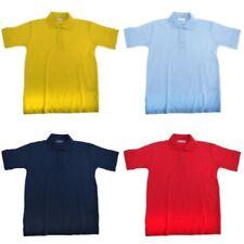Camicia Polo nessuna fantasia per bambini dai 2 ai 16 anni